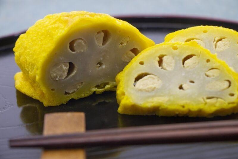 Mustard lotus root